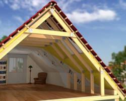 Постройка крыши дома своими руками
