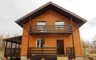 Деревянный балкон в частном доме своими руками