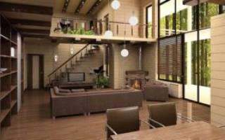 Дизайна проект дома: особенности дизайна интерьера частного дома
