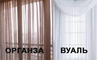 Что лучше вуаль или органза: отличия и материалы