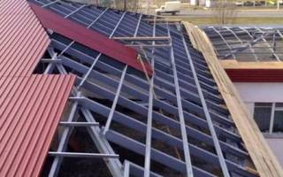 Крыша многоэтажки: виды кровли многоэтажных домов