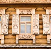 Наличники на окна под старину