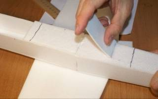 Клей для пенопласта для внутренних работ