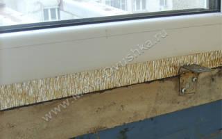 Утепление балкона с металлическим парапетом