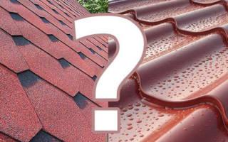 Какая крыша дешевле металлочерепица или мягкая кровля