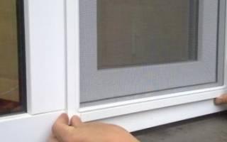 Как устанавливается москитная сетка на пластиковое окно