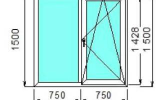 Сколько стоит поставить пластиковое окно на кухню