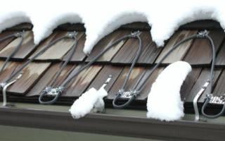 Сосульки на крыше что делать