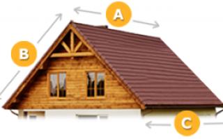 Рассчитать перекрытие крыши