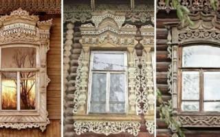 Резные наличники на окна и двери