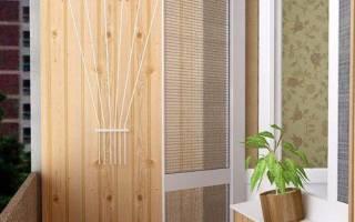 Системы для сушки белья на балконе потолочные