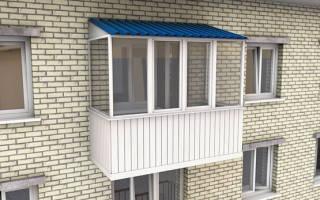 Сколько стоит остеклить балкон в хрущевке