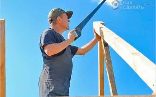 Как правильно сделать стропильную систему крыши