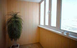 Как обшить пластиком балкон внутри