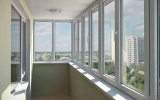 Технология остекления балкона пластиковыми окнами