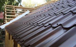 Крыша из металлочерепицы своими руками пошагово