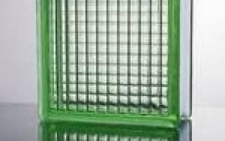 Как монтировать стеклоблоки?