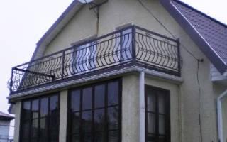 Как сделать балкон на мансарде своими руками