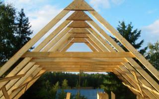 Как построить стропила двускатной крыши