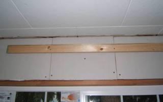 Как закрепить пенопласт на потолке?