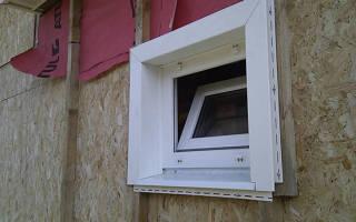 Монтаж сайдинга вокруг окна своими руками