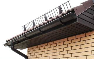 Снегоудерживающие устройства для крыши своими руками
