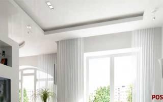 Как сделать нишу под шторы из гипсокартона?