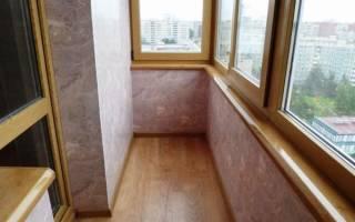 Какие панели ПВХ лучше для балкона