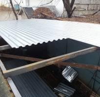 Протекает крыша в гараже что делать