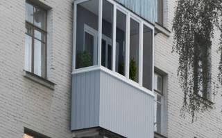 Остеклить балкон в хрущевке