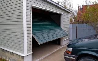 Какие гаражные ворота лучше?