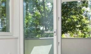 Дверь на лоджию вместо окна