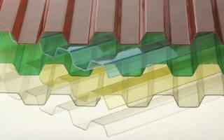 Волновой поликарбонат для крыши