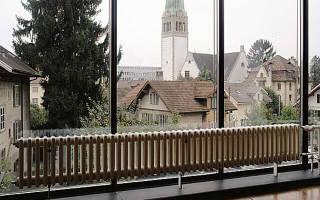 Напольные радиаторы для панорамных окон