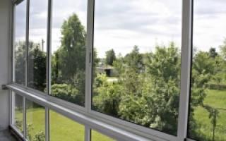 Остеклить балкон алюминиевым профилем своими руками
