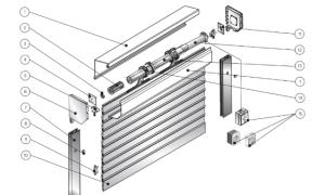 Схема подключения жалюзи с электроприводом