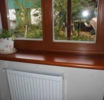 Как прикрепить подоконник к пластиковому окну