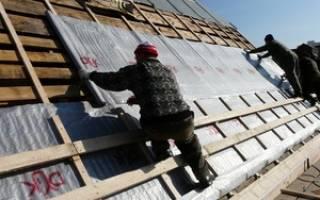 Как крепить гидроизоляцию на крышу
