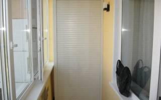 Рольставни внутренние на окна в квартире