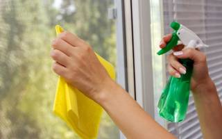 Как убрать скотч с пластиковых окон