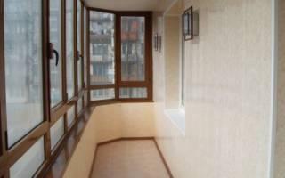 Материалы для обшивки балкона изнутри