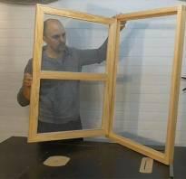 Окно с форточкой деревянное своими руками