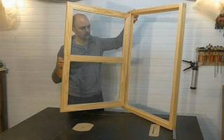 Как сделать раму для окна своими руками