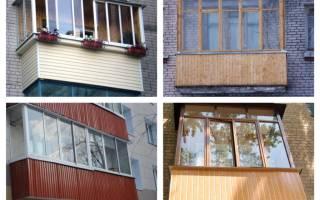 Как отделать балкон снаружи своими руками