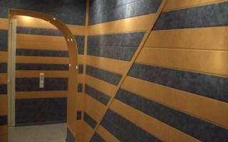 Панели для стен для внутренней отделки прихожей