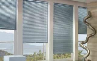 Как снять жалюзи с пластикового окна