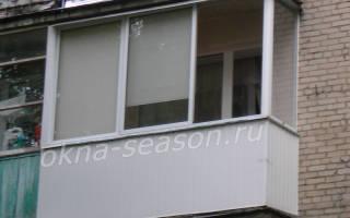 Сколько стоит остекление балкона в пятиэтажке