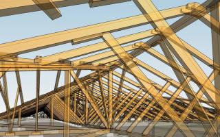 Как собрать стропильную систему двухскатной крыши