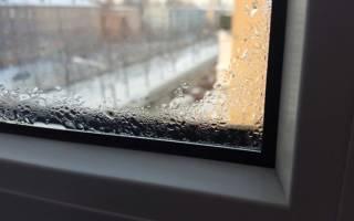 Почему потеют стекла на балконе