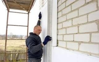 Как рассчитать толщину пенопласта для утепления стен?